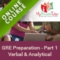 GRE Preparation - Part 1 (Verbal and Analytical)