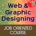 Job Oriented Course On Web And Graphic Designing.