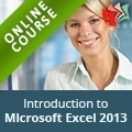 Introduction to Microsoft Excel 2013