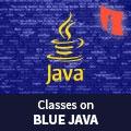 Classes On Blue JAVA