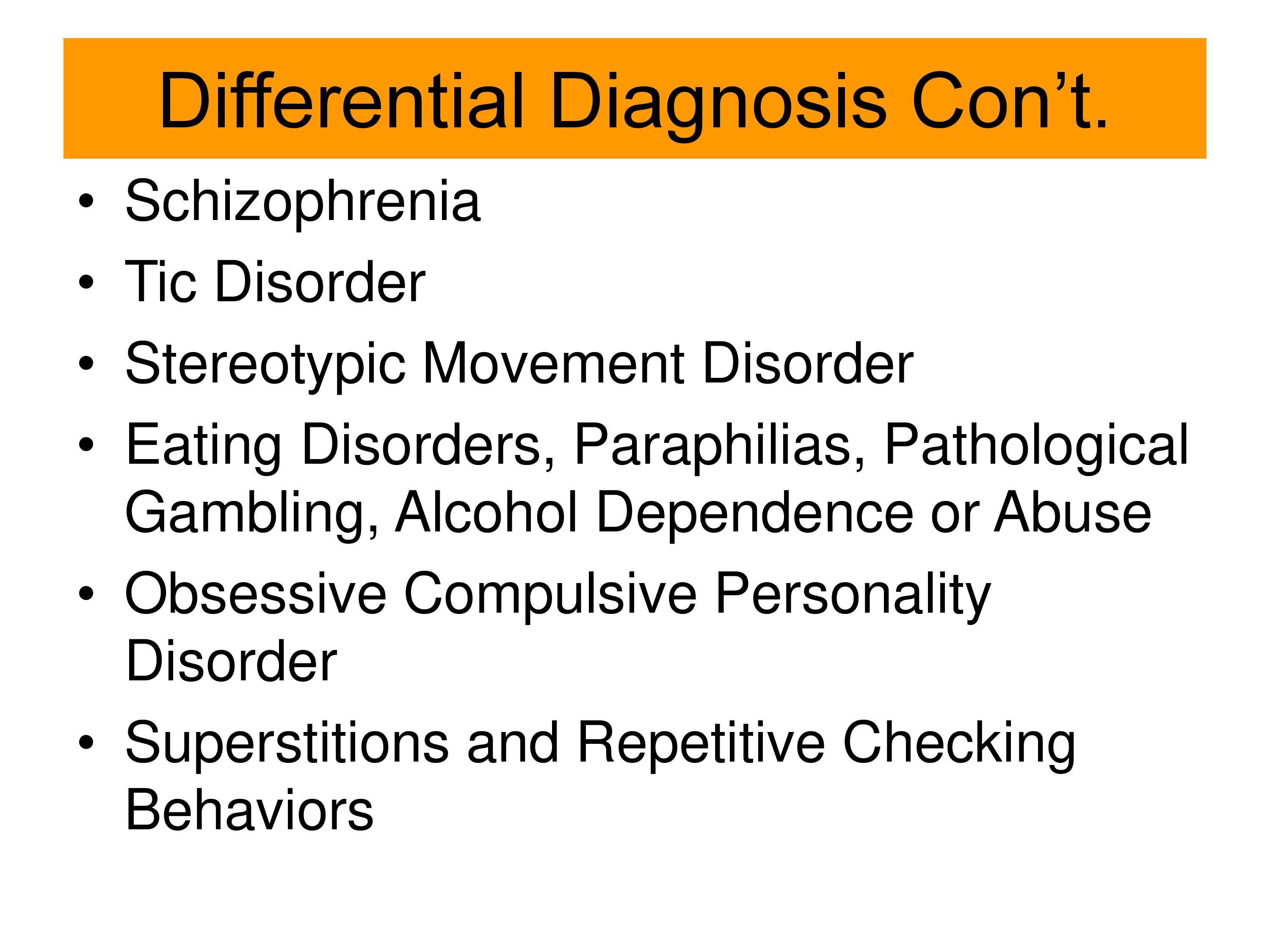 Personality disorder compulsive treatment for obsessive Psychological interventions