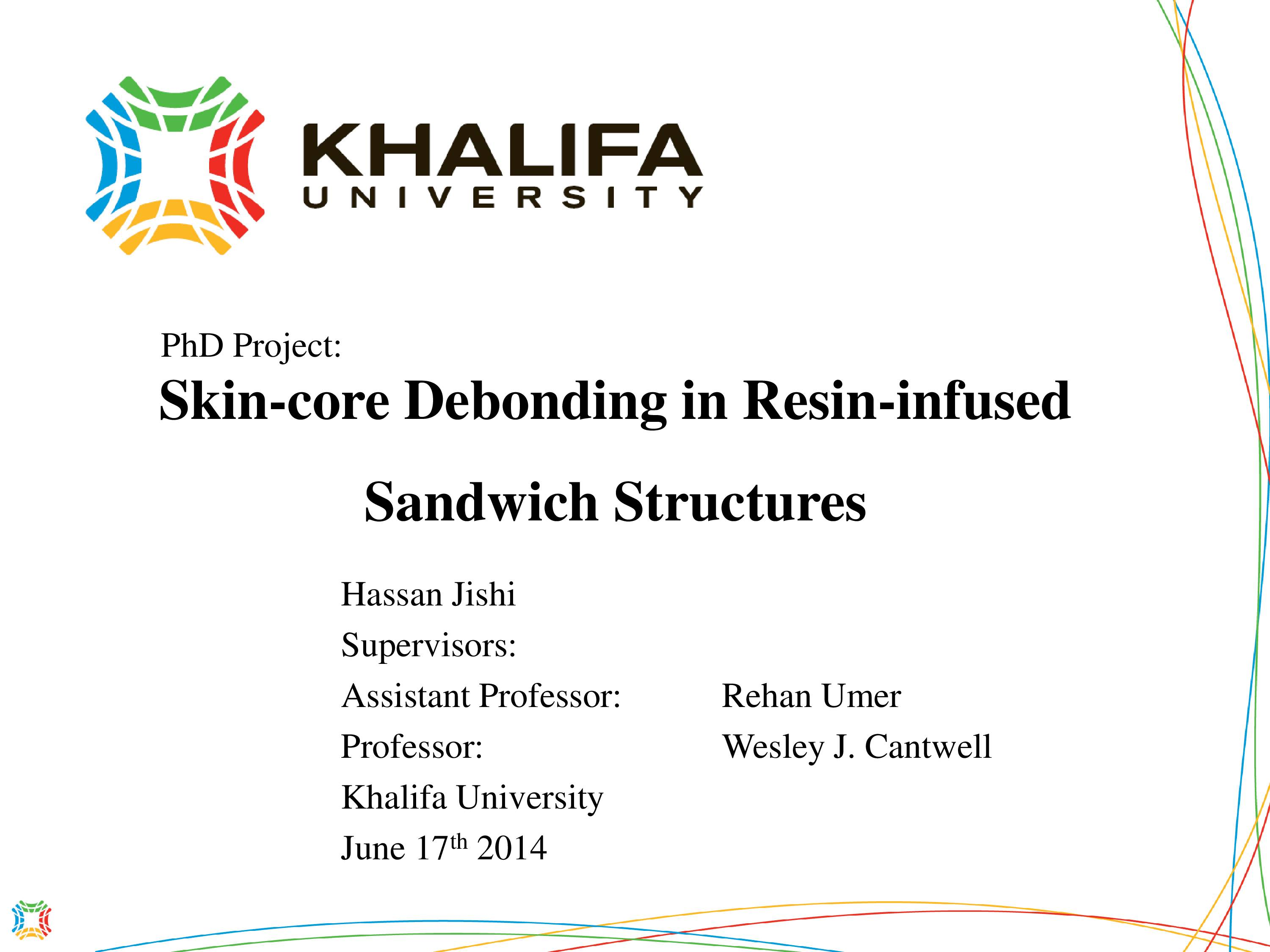 Skin-core Debonding in Resin-infused Sandwich Structures