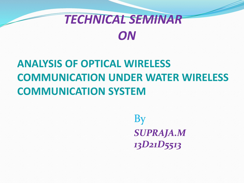 PPT On Wireless Communication